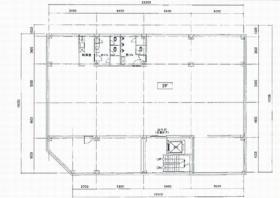 桶川ビル:基準階図面