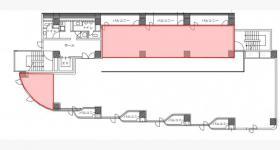 Office805ビル:基準階図面