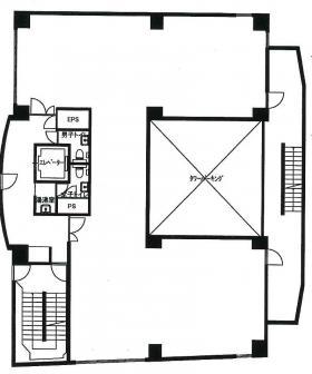 昭和第3ビル:基準階図面