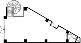 西川口ビル:基準階図面
