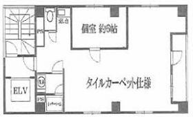 スワンレイク東日本橋ビル:基準階図面