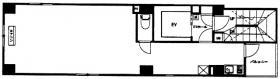 日本橋平成不動産ビル:基準階図面