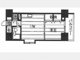 ダイアパレス東神田Ⅱビル:基準階図面