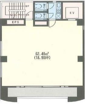トーハン第7ビル:基準階図面