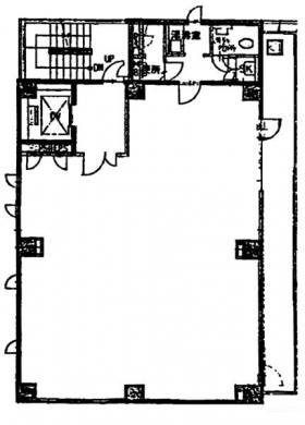 三番町関野ビル:基準階図面