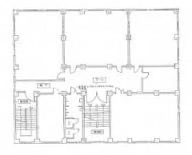 東方学会本館ビル:基準階図面
