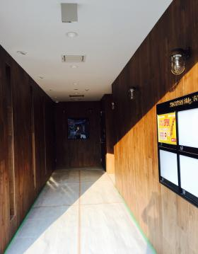 杉船ビル東陽町ビルのエントランス
