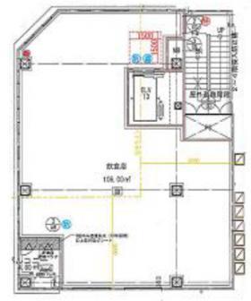 杉船ビル東陽町ビル:基準階図面