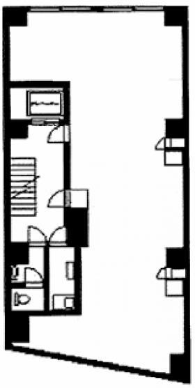 共栄ビル:基準階図面