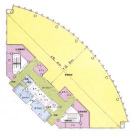 OLSビル(大宮法科大学院大学ビル):基準階図面