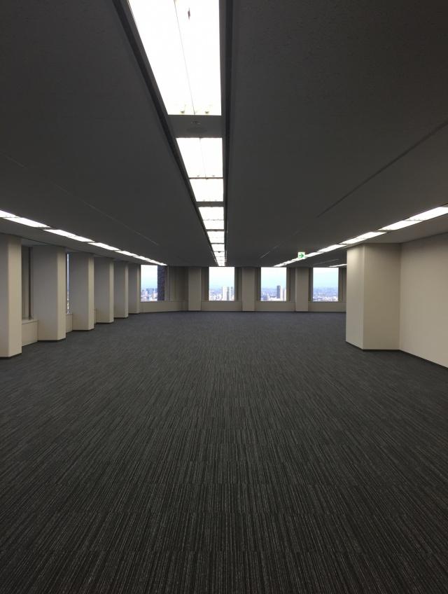新宿センタービル 31F 72.87坪(240.89m<sup>2</sup>)の内装