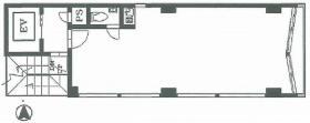 滝沢68ビル:基準階図面
