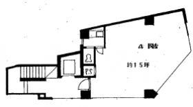 第六隅田ビル:基準階図面