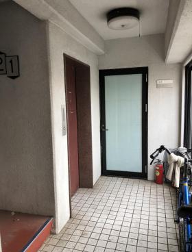 第六隅田ビルの内装