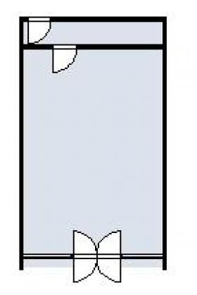 行徳ハイツ:基準階図面