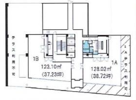 中央総業ビル:基準階図面