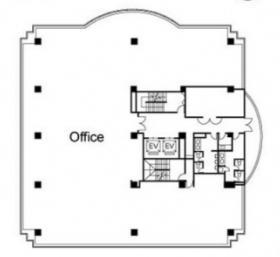 N&Fビル2:基準階図面