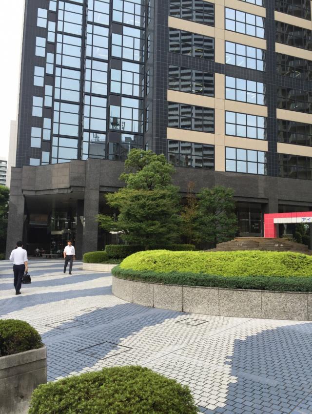 新宿スクエアタワー 8F 78.7坪(260.16m<sup>2</sup>)のエントランス
