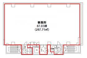 Daiwa日本橋本石町ビル:基準階図面