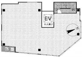 プロスペリティ北大塚ビル:基準階図面
