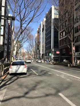 AD-O渋谷道玄坂ビルのエントランス