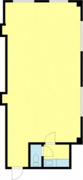 中島ビル:基準階図面