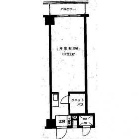 新宿セントビラ永谷:基準階図面