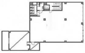 新宿丸正ビル:基準階図面