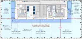 ニッセイ浜松町クレアタワー:基準階図面