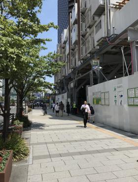 ニッセイ浜松町クレアタワーの内装