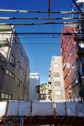 仮称)北参道計画ビルの外観写真