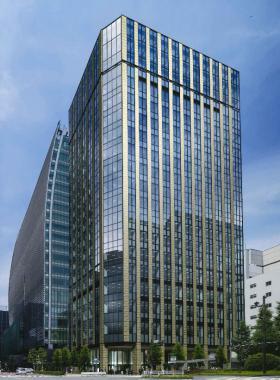 仮)日鐵日本橋ビル建替計画の外観