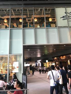 渋谷ストリームの内装