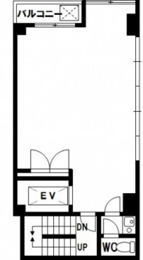 キムラビル:基準階図面