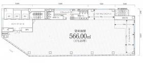 PMO半蔵門ビル:基準階図面