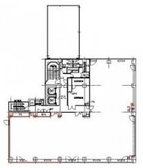 橋本MNビル:基準階図面