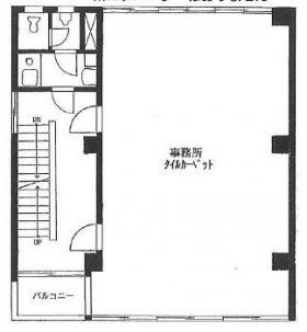 藤田ビル:基準階図面