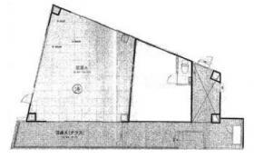 ABC亜米利加橋ビル:基準階図面