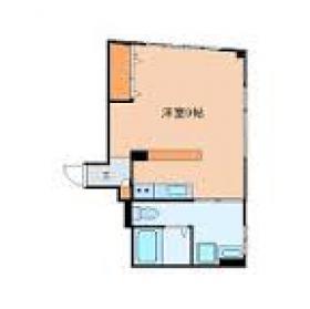 第1村田ビル:基準階図面