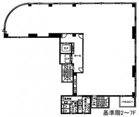 VORT渋谷神泉:基準階図面