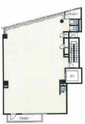 新宿O・Tビル:基準階図面