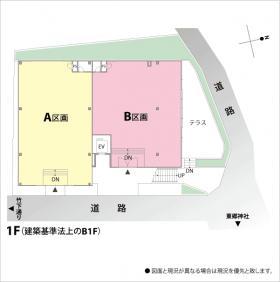 FOUND HARAJYUKU(旧HARAJYUKU BASE):基準階図面
