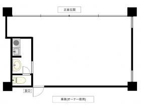 小峰第二ビル:基準階図面