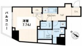 VORT渋谷松濤residence:基準階図面