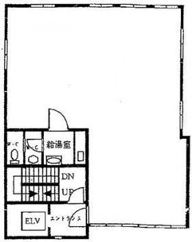 日本橋高野ビル:基準階図面