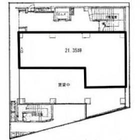 SAラッシュビル:基準階図面