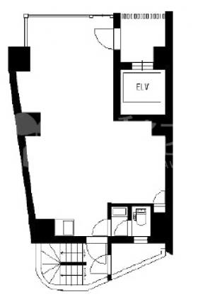 ONREA YEBISUビル:基準階図面