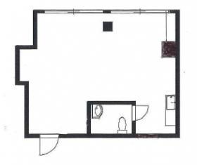 アゼリア東広ビル:基準階図面