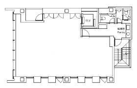 日総第25ビル:基準階図面