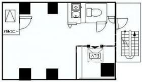 虎ノ門サンライトビル:基準階図面